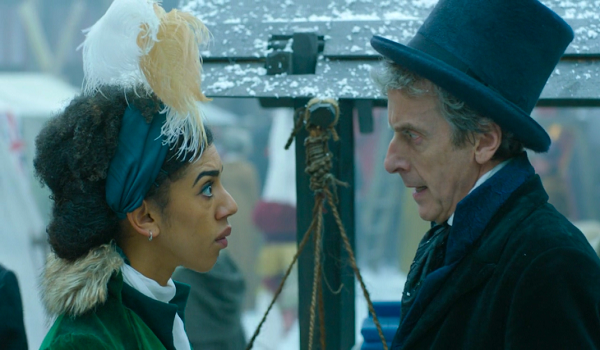 Bill-Pearl-Mackie-and-the-Doctor-Peter-Capaldi-in-22Thin-Ice22